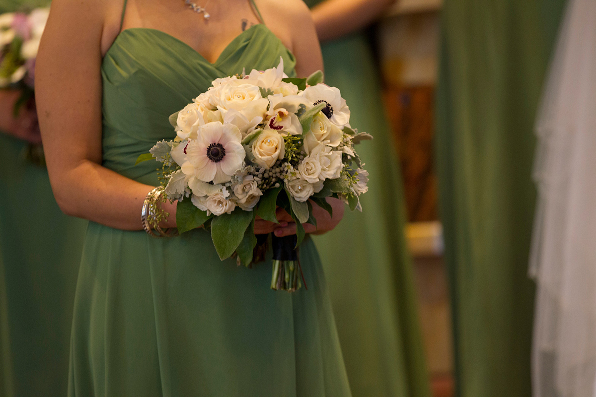 Wedding Bridal Party Flowers